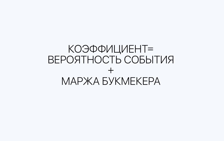 формула расчета маржи бк