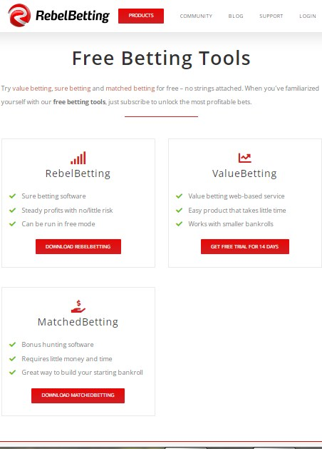 Подробный обзор вилочного сервиса RebelBetting